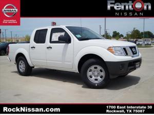 new Glacier White 2017 Nissan Frontier S with Steel Interior located in Rockwall